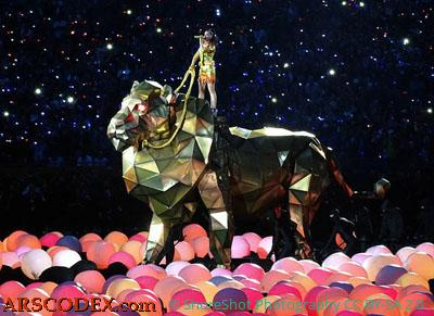 Katy Perry at the Superbowl 2015