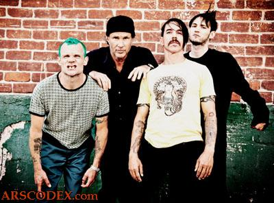 Imagen promocional de Red Hot Chili Peppers